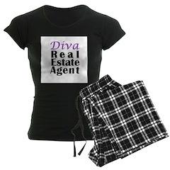 Diva Real estate Agent Pajamas