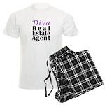 Diva Real estate Agent Men's Light Pajamas
