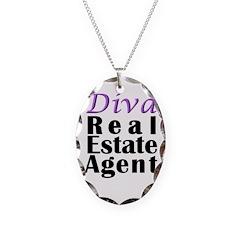 Diva Real estate Agent Necklace
