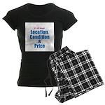 Location, Condition and Price Women's Dark Pajamas