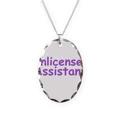 Unlicensed Assistant Necklace