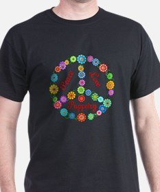 Puppetry Peace Sign T-Shirt