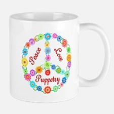 Puppetry Peace Sign Mug