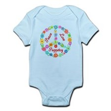 Puppetry Peace Sign Infant Bodysuit