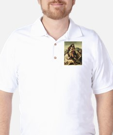 The Virgin and Child with a S T-Shirt