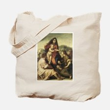 The Virgin and Child with a S Tote Bag