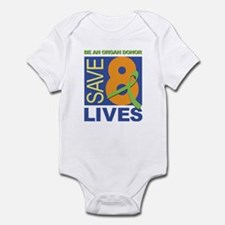 Save 8 Lives Infant Creeper
