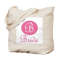 """B"" Bride Section Tote Bag"