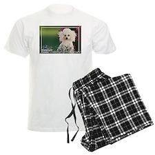 Miniature Poodle-4 Pajamas