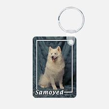 Samoyed-1 Keychains