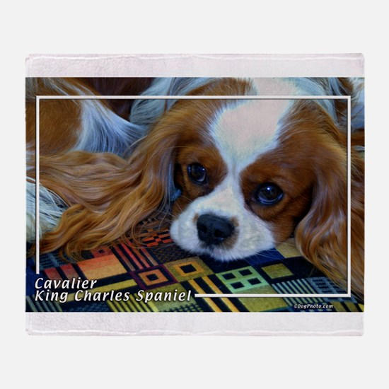 Cavalier-5 Throw Blanket