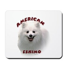 American Eskimo Mousepad