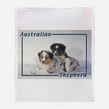 Australian Shepherd-2 Throw Blanket