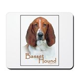 Basset hound Mouse Pads