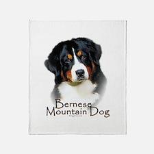 Bernese Mountain Dog Throw Blanket