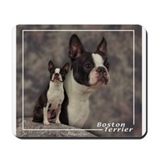 Boston Terrier-1 Mousepad