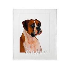 Boxer-2 Throw Blanket