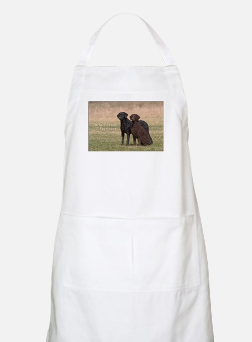 Curly Coated Retriever-5 Apron