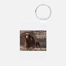 Curly Coated Retriever-3 Keychains