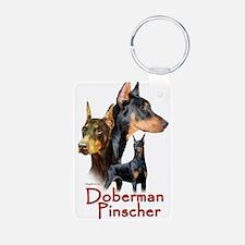 Doberman Pincher-1 Keychains