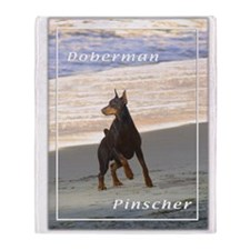 Doberman Pincher-3 Throw Blanket