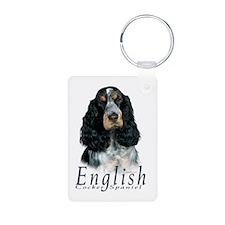 English Cocker Spaniel-1 Keychains