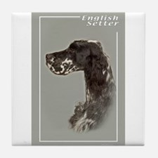 English Setter-4 Tile Coaster