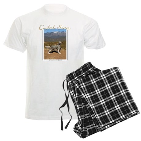 English Setter-1 Men's Light Pajamas