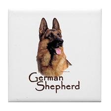 German Shepherd Dog-1 Tile Coaster