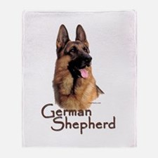 German Shepherd Dog-1 Throw Blanket