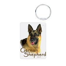 German Shepherd Dog-2 Keychains