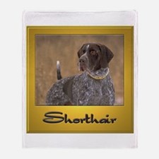 German Shorthair Pointer-1 Throw Blanket