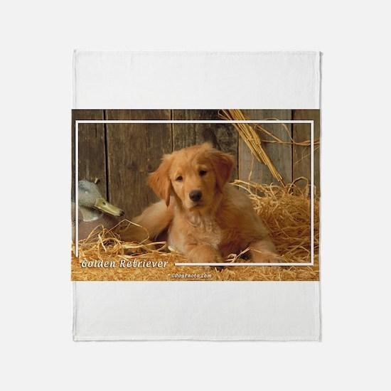 Golden Retriever-6 Throw Blanket