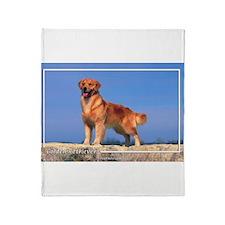 Golden Retriever-5 Throw Blanket