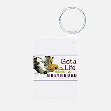 greyhound Keychains