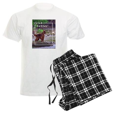 Irish Setter-2 Men's Light Pajamas