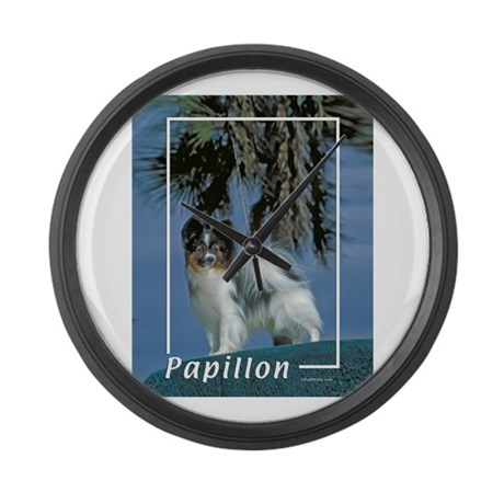 papillon-2 Large Wall Clock