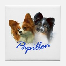 papillon-1 Tile Coaster