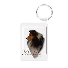Sheltie-1 Keychains
