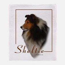 Sheltie-1 Throw Blanket