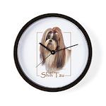 Shih Tzu-2 Wall Clock