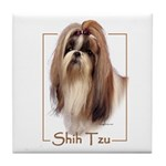 Shih Tzu-2 Tile Coaster
