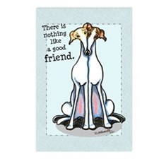 Good Friend Greyhound Postcards (Package of 8)