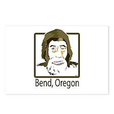 Bend, Oregon Sasquatch Postcards (Package of 8)