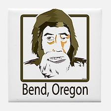 Bend, Oregon Sasquatch Tile Coaster