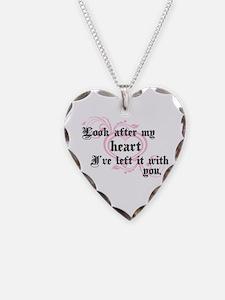 Edward Heart Twilight Necklace