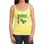 Ovarian Cancer Hero Teacher Jr. Spaghetti Tank