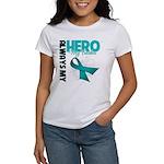 Ovarian Cancer Hero Teacher Women's T-Shirt