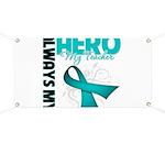 Ovarian Cancer Hero Teacher Banner