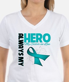 Ovarian Cancer Hero Sister-in-Law Shirt